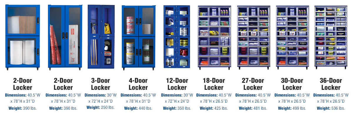 Locker Dimensions Fastenal