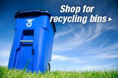 Shop for recycling bins