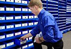 Fastenal Managed Inventory - an organized inventory