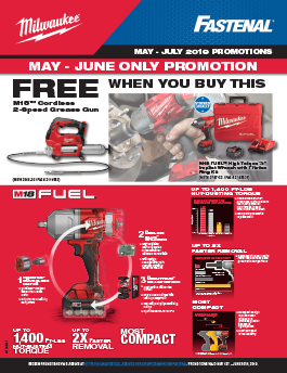 Milwaukee May-July Promotions