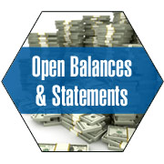 Open Balances & Statements