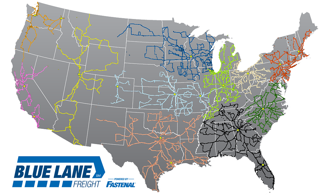 Blue Lane Freight 3PL (Third Party Logistics) | Fastenal