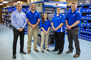 The Blue Team at Fastenal