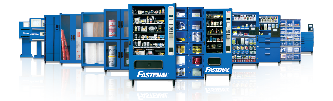 Fastenal's Vending Lineup