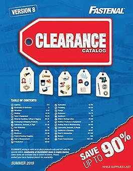 Clearance Catalog 2019