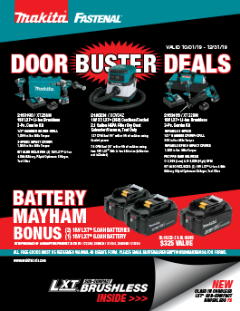 Makita Door Buster Deals