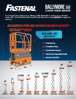 Ballymore Scissor Lifts Promo