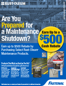 Rust-Oleum Maintenance Products Rebate