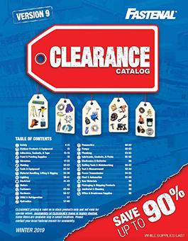 Clearance Catalog Winter 2019