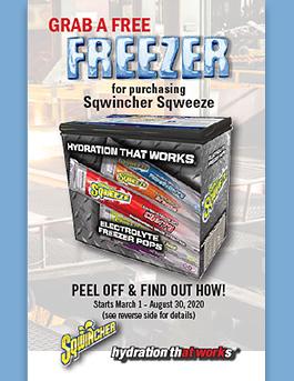 Sqwincher Free Freezer Promo