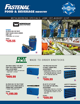 Fastenal Manufacturing Specials