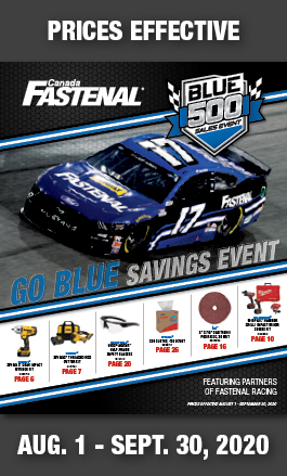 2020 Canada Blue 500 Sales Event