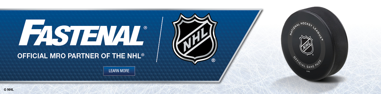 Fastenal, Official MRO Partner of the NHL