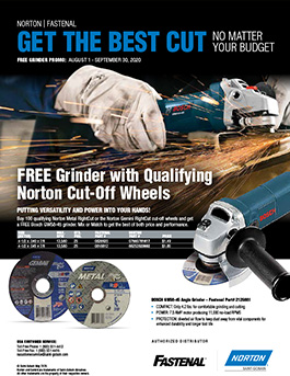 Norton Grinder Promotion