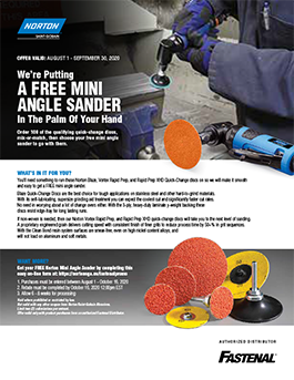 Norton Sander Promotion