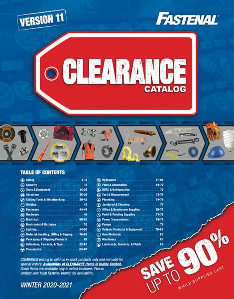 Clearance Catalog Winter 2020