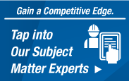 Tap Into Our Subject Matter Experts. Gain A Competitive Edge.