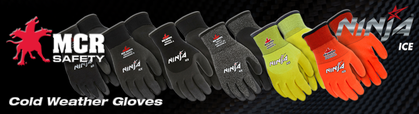 MCR Safety. Ninja ice. Cold weather gloves.