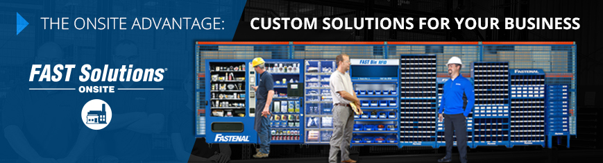 The Onsite Advantage. Custom solutions for your business. fast solutions onsite.