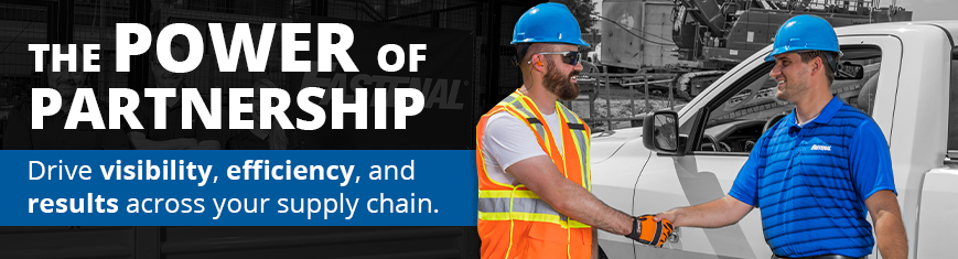 The Power of partnership. Drive visibility, efficiency, and results across your supply chain.