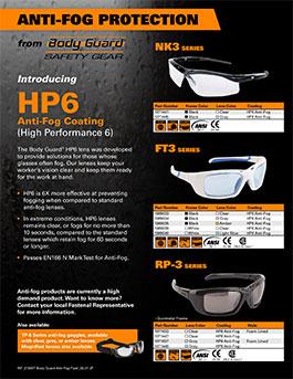 Body Guard Anti Fog Glasses Promotion