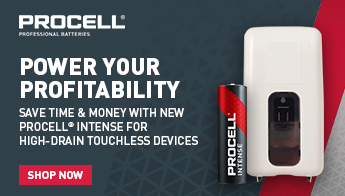 Procell. Power your profitability. Save time and money with new procell intense for high drain touchless devices. Shop now.