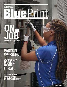 Fastenal Blue Print.