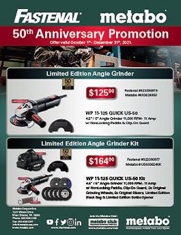 Metabo Q4 Promotion