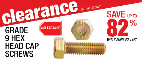 Shop Our Clearance Today!
