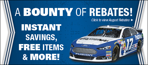 Check Out Our Rebates!