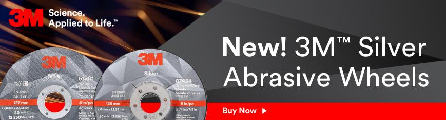 3M Silver Abrasive Wheels