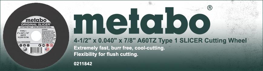 Metabo Original Slicer